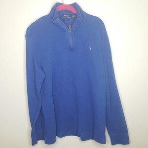 Polo Ralph Lauren Sweater Zip Golf Tee Top Shirt B